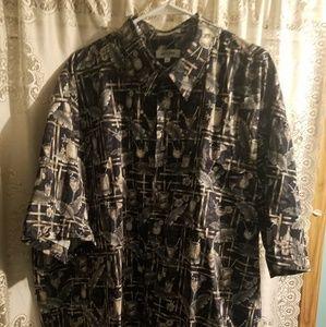 3xlt Pierre Cardin mans shirt